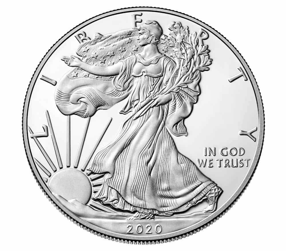2020 American Silver Eagle 1oz .999 Silver Bullion Coin ASE (500oz Monsterbox) 3