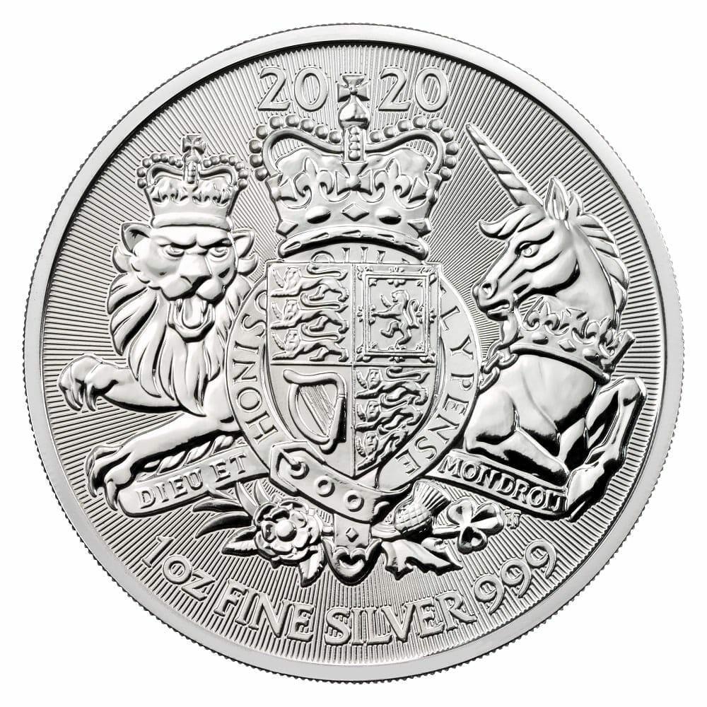 2020 The Royal Arms 1oz .999 Silver Bullion Coin 1