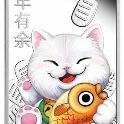2020 Lucky Cat 1oz .9999 Silver Proof Coin 6