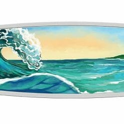 2020 Surfboard 2oz .9999 Coloured Silver Proof Coin 6
