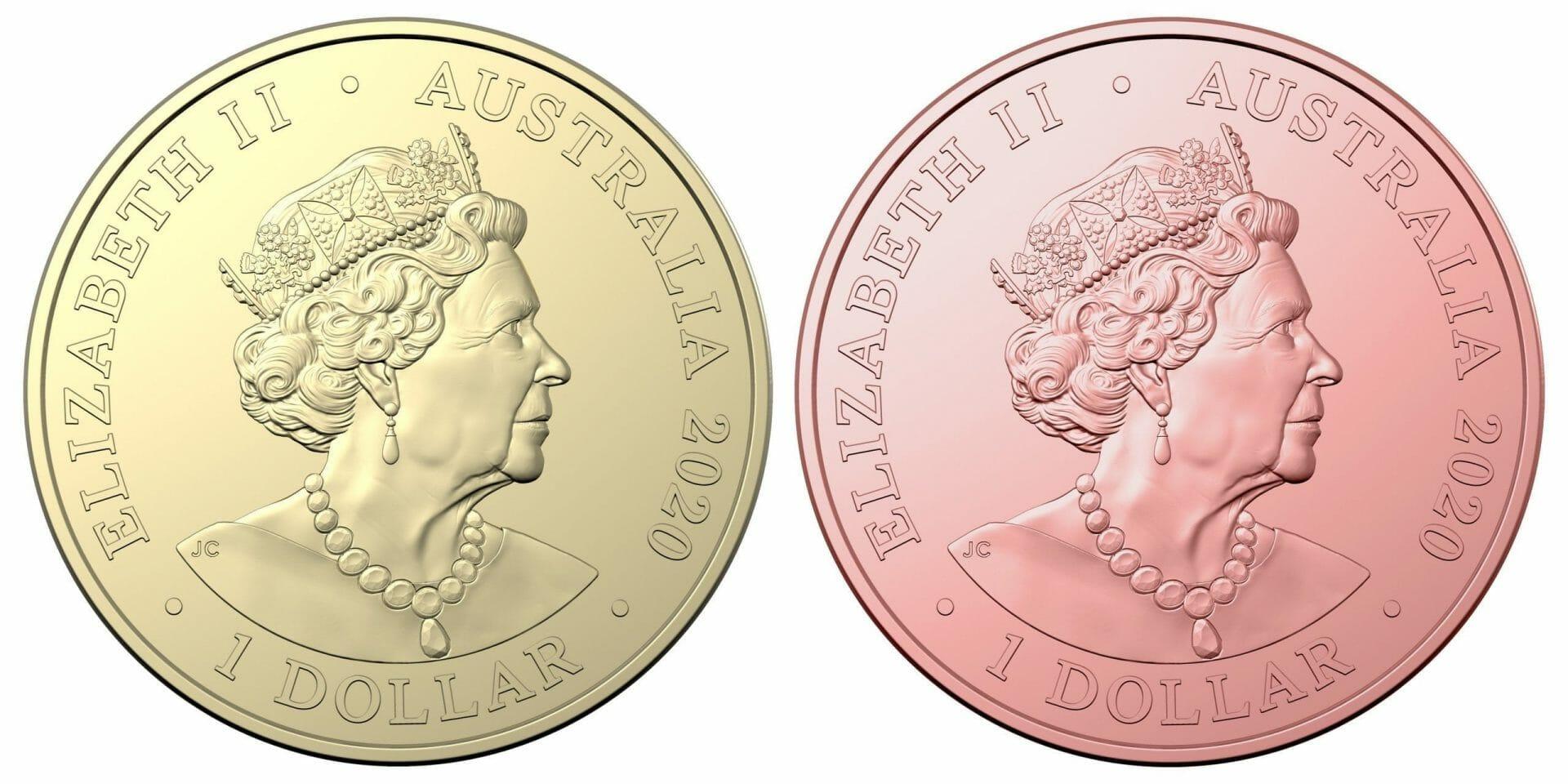 2020 Qantas Centenary 11 $1 Coloured Coin Uncirculated Set 8