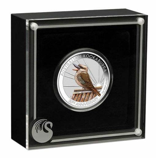 2020 Kookaburra Coloured 1oz .9999 Silver Coin - World Money Fair / Berlin Coin Show 4