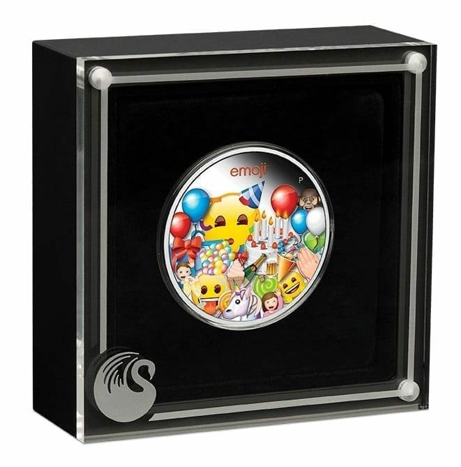 2020 emoji ™ Celebration 1oz .9999 Silver Proof Coin 4