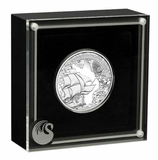 2020 Voyage of Discovery - Endeavour 1770-2020 1oz .9999 Silver Proof Coin 4