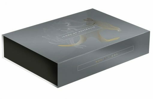 2020 $1 Mob of Roos - Selectively Gold Plated 5oz Silver Proof Coin 5