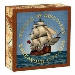 2020 Voyage of Discovery - Endeavour 1770-2020 1oz .9999 Silver Proof Coin 9