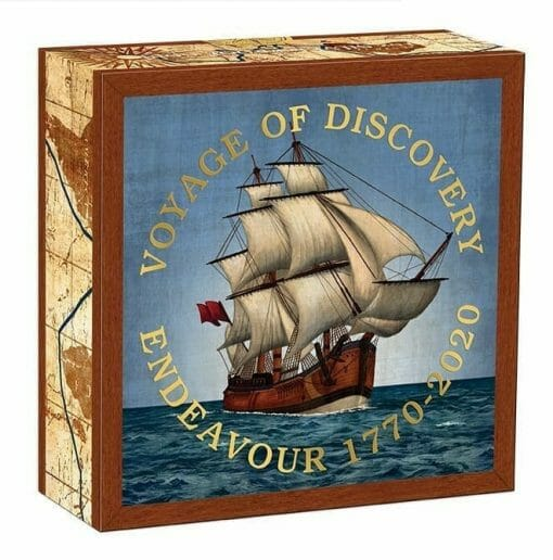 2020 Voyage of Discovery - Endeavour 1770-2020 1oz .9999 Silver Proof Coin 5