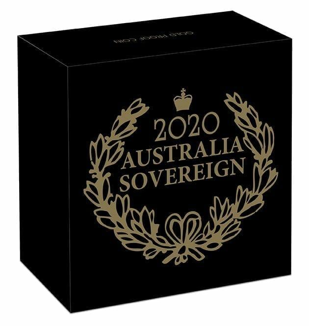 2020 Australian Sovereign Gold Proof Coin 5
