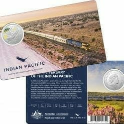 2020 50th Anniversary of the Indian Pacific - 50c Coloured Uncirculated Coin 4