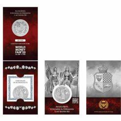2019 The Allegories - Columbia & Germania 1oz .9999 Silver Coin - World Money Fair Exclusive 5