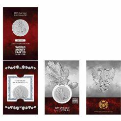 2019 Mythical Forest - Oak Leaf 1oz .9999 Silver Coin - World Money Fair Exclusive 5