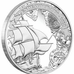 2020 Voyage of Discovery - Endeavour 1770-2020 1oz .9999 Silver Proof Coin 6