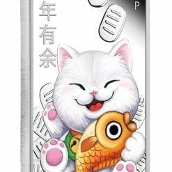2020 Lucky Cat 1oz .9999 Silver Proof Coin 7