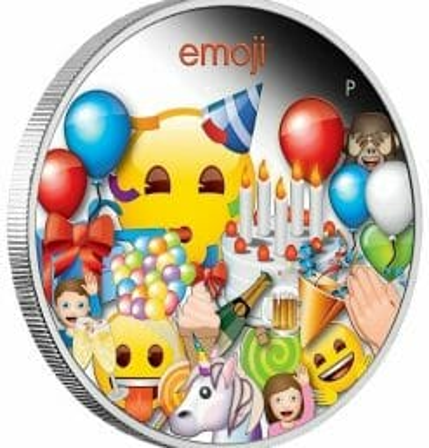 2020 emoji ™ Celebration 1oz .9999 Silver Proof Coin 6
