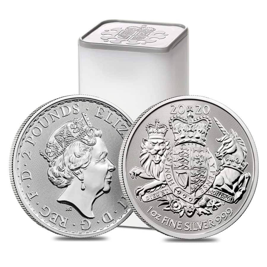 2020 The Royal Arms 1oz .999 Silver Bullion Coin 5