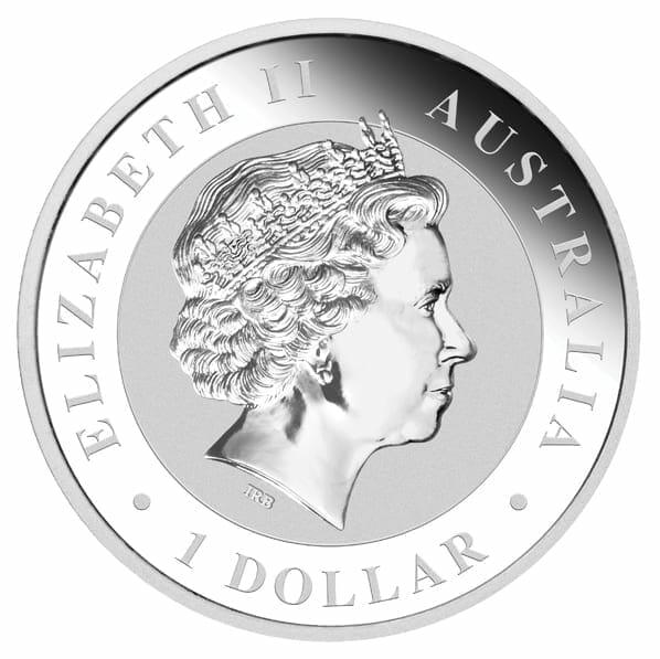 2013 Australian Kookaburra 1oz .999 Silver Bullion Coin 5