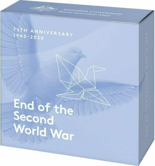 2020 $5 75th Anniversary of the End of World War II 1oz .999 Silver Proof Coin 4