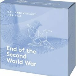 2020 $5 75th Anniversary of the End of World War II 1oz .999 Silver Proof Coin 8