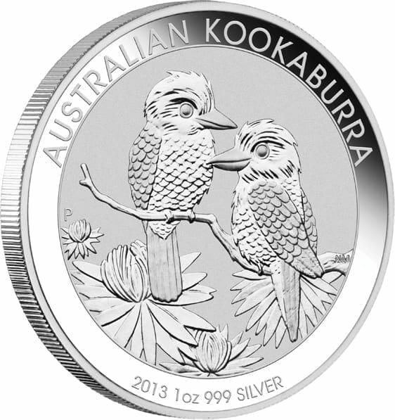 2013 Australian Kookaburra 1oz .999 Silver Bullion Coin 2