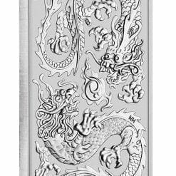 2020 Dragon 1oz .9999 Silver Bullion Rectangular Coin 5