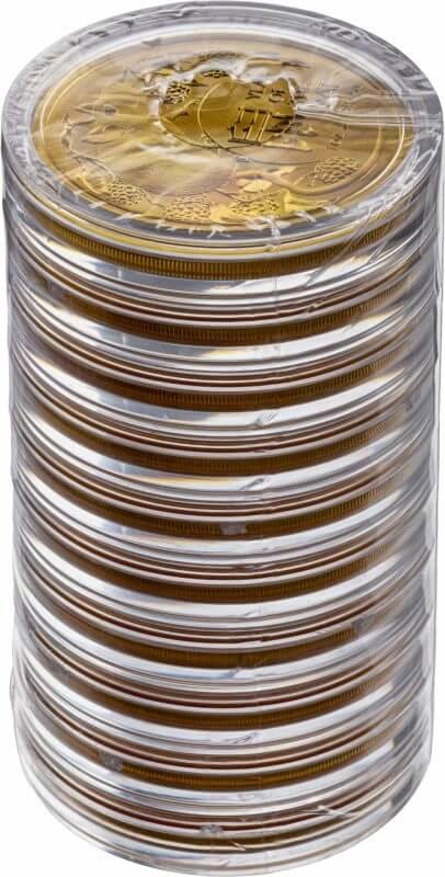 2020 Year of the Rat 1oz .9999 Gold Bullion Coin - Lunar Series 3