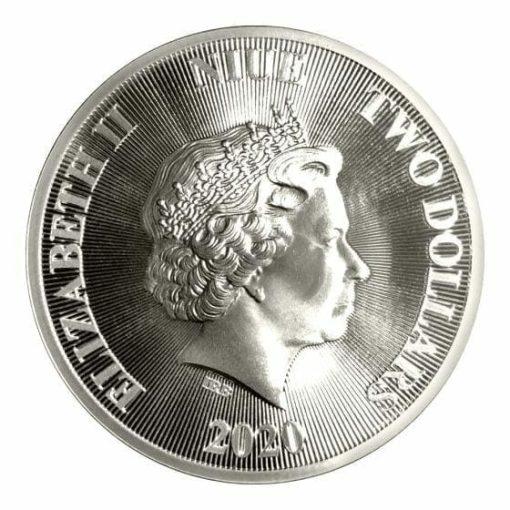 2020 Roaring Lion 1oz .9999 Silver Coin 3
