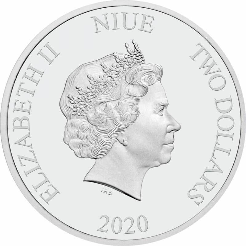 2020 Star Wars - Boba Fett 1oz .999 Silver Bullion Coin 3