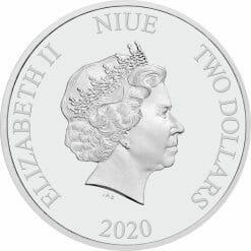 2020 Star Wars - Boba Fett 1oz .999 Silver Bullion Coin 7