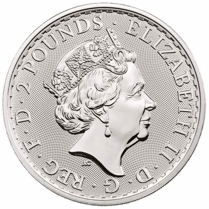 2020 Britannia 1oz .999 Silver Bullion Coin 3