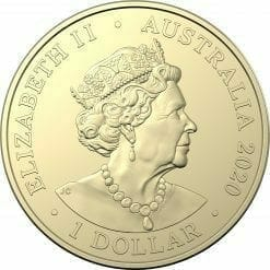 2020 $1 Australian Paralympic Team - Ambassador Uncirculated Coloured Coin - AlBr 6
