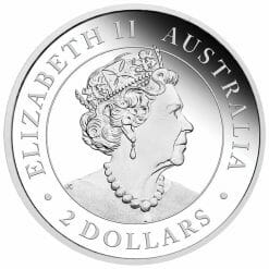 2020 Australian Wedge-Tailed Eagle 2oz .9999 Silver Proof Piedfort Coin 7