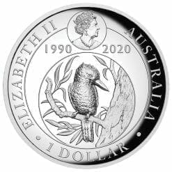 2020 Australian Kookaburra 1oz .9999 Silver Proof High Relief Coin 7