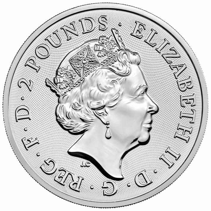 2018 Two Dragons 1oz .999 Silver Bullion Coin 3