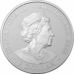 2020 Australia Zoo Series - Sumatran Tiger 1oz .999 Silver Bullion Coin 3
