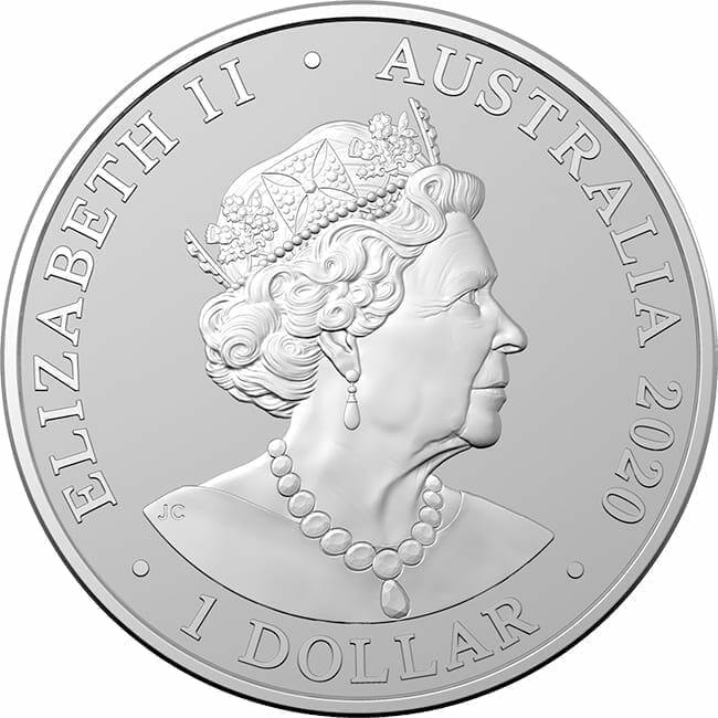 2020 Australia Zoo Series - Sumatran Tiger 1oz .999 Silver Bullion Coin 2