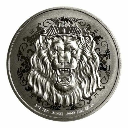 2020 Roaring Lion 1oz .9999 Silver Coin 1