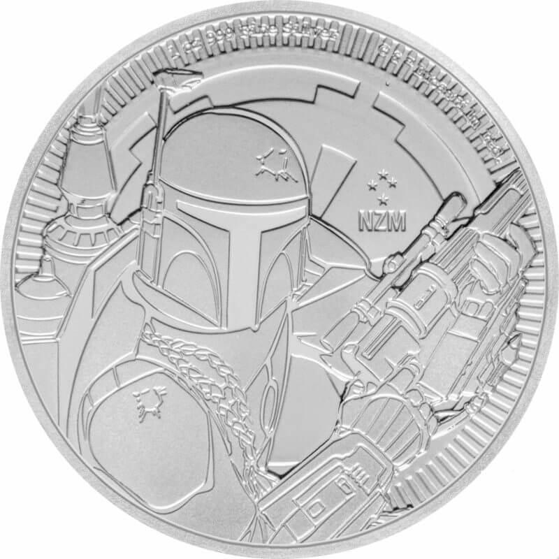 2020 Star Wars - Boba Fett 1oz .999 Silver Bullion Coin 1