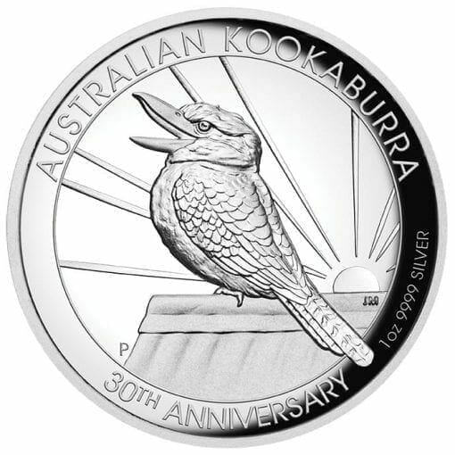 2020 Australian Kookaburra 1oz .9999 Silver Proof High Relief Coin 1