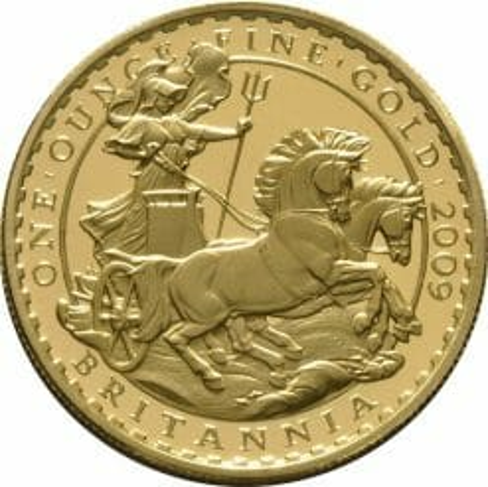 2009 Britannia Four Coin Gold Proof Set - 1.85oz 3