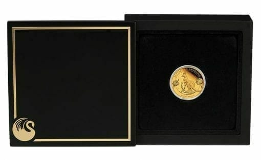 2020 Australian Kangaroo 1/4oz .9999 Gold Proof Coin 4