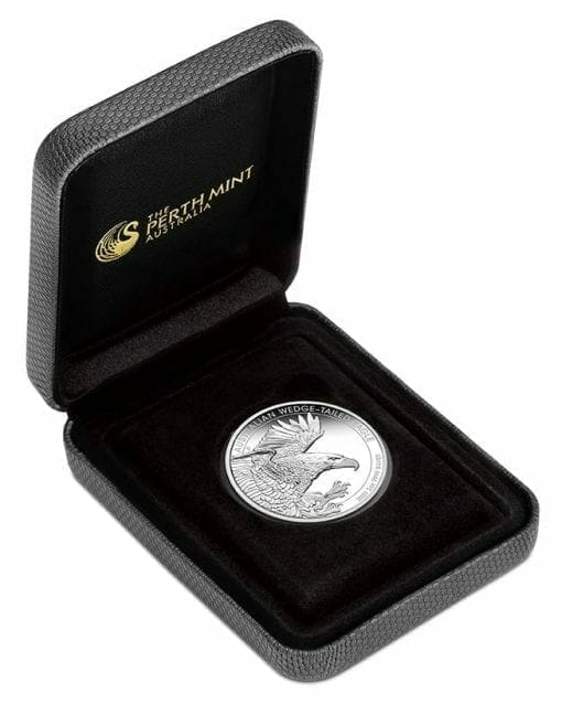 2020 Australian Wedge-Tailed Eagle 2oz .9999 Silver Proof Piedfort Coin 4