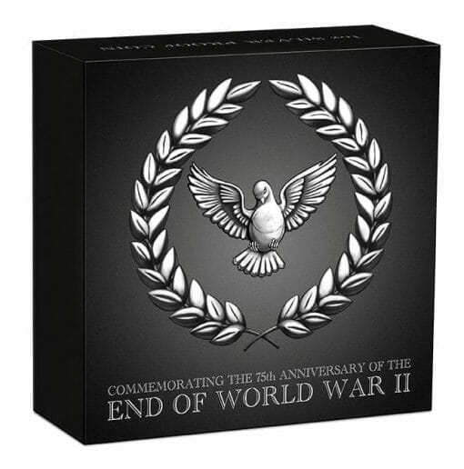 2020 End of WWII 75th Anniversary 1oz .9999 Silver Proof Coin 5