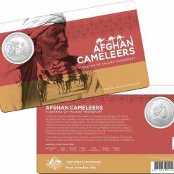 2020 50c Afghan Cameleers - Pioneers of Inland Transport Uncirculated Coin 7