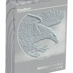 2020 Australian Wedge-Tailed Eagle 2oz .9999 Silver Proof Piedfort Coin 9