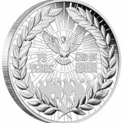 2020 End of WWII 75th Anniversary 1oz .9999 Silver Proof Coin 6