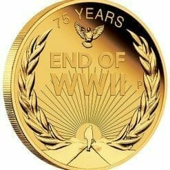 2020 End of WWII 75th Anniversary 1/4oz .9999 Gold Proof Coin 6