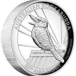 2020 Australian Kookaburra 1oz .9999 Silver Proof High Relief Coin 6