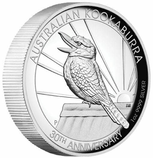 2020 Australian Kookaburra 1oz .9999 Silver Proof High Relief Coin 2