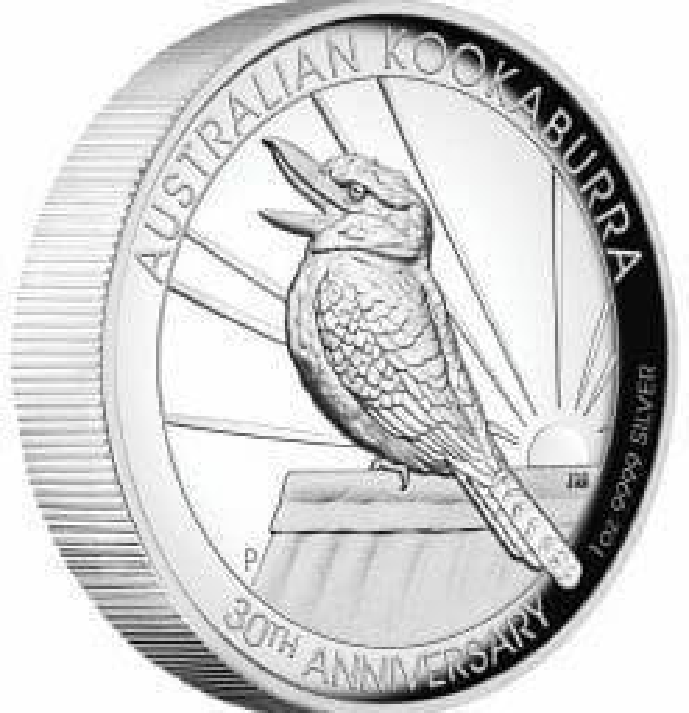 2020 Australian Kookaburra 1oz .9999 Silver Proof High Relief Coin 6