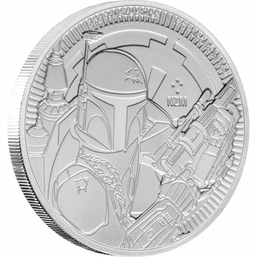 2020 Star Wars - Boba Fett 1oz .999 Silver Bullion Coin 2
